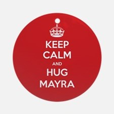 Hug Mayra Ornament (Round)