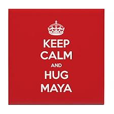 Hug Maya Tile Coaster