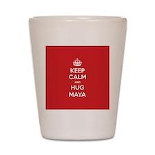 Hug Maya Shot Glass