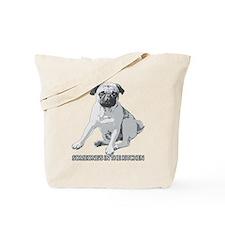 Pug Alert Tote Bag