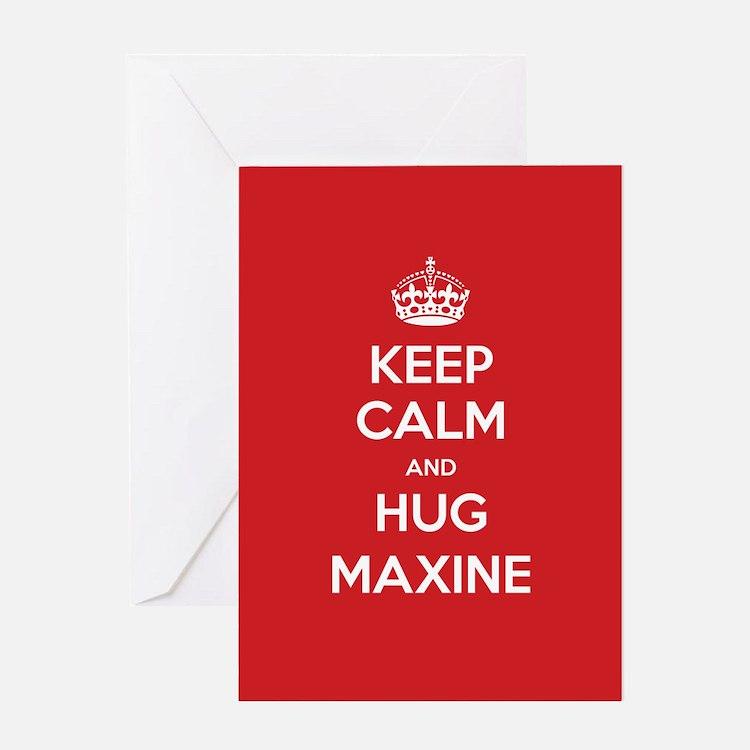 Hug Maxine Greeting Cards
