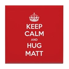 Hug Matt Tile Coaster