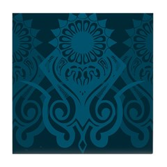 Abstract Pattern Design Tile Coaster