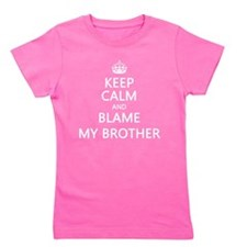 Keep Calm Kids Girl's Tee