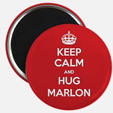 Hug Marlon Magnets