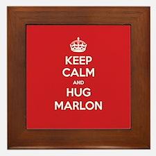 Hug Marlon Framed Tile