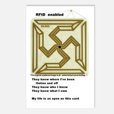 RFID Postcards (Package of 8)