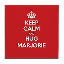 Hug Marjorie Tile Coaster