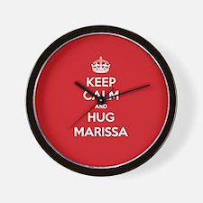 Hug Marissa Wall Clock