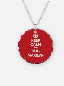 Hug Marilyn Necklace