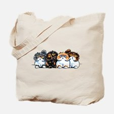 Exotic Foursome Tote Bag