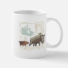 Mommy & Baby Canadian Boars Mug