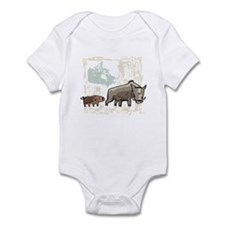 Mommy & Baby Canadian Boars Infant Bodysuit