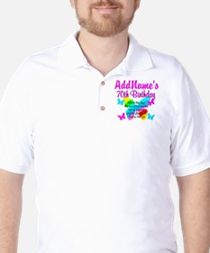 BLESSED 70TH Golf Shirt
