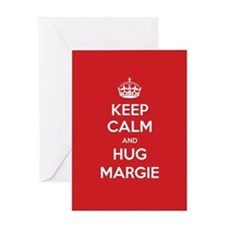 Hug Margie Greeting Cards