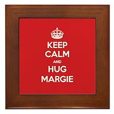 Hug Margie Framed Tile
