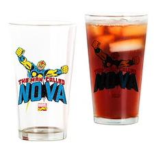 The Man Called Nova Drinking Glass