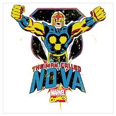 Vintage Nova Wall Art Poster