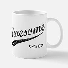 Personalize Awesome Since Mugs