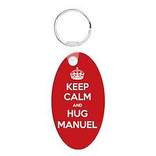 Hug Manuel Keychains