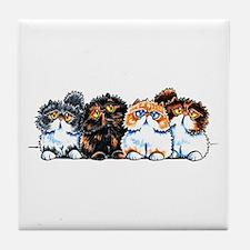 Exotic Foursome Tile Coaster