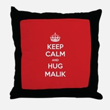 Hug Malik Throw Pillow