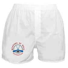 Hockey Weapons Of Mass Destruction Boxer Shorts