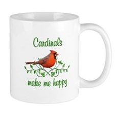 Cardinals Make Me Happy Mug