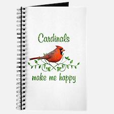 Cardinals Make Me Happy Journal