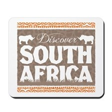 Discover South Africa Mousepad