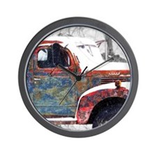 Farm Truck 1 Wall Clock