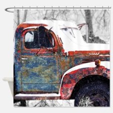 Farm Truck 1 Shower Curtain