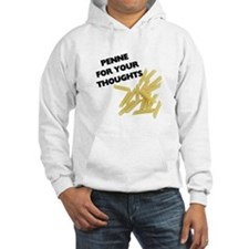 Penne For Your Thoughts Hooded Sweatshirt