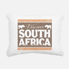 Discover South Africa Rectangular Canvas Pillow