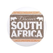 "Discover South Africa 3.5"" Button"