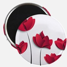 """Paper Flowers 2.25"""" Magnet (10 pack)"""