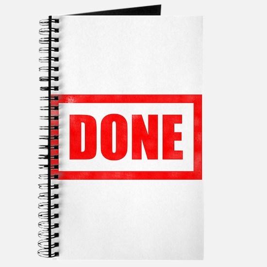 Done! Graduation Journal