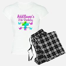 REJOICING 70TH Pajamas