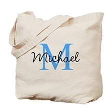 Personalize Iniital, and name Tote Bag