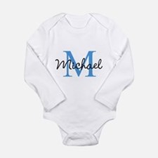 Personalize Iniital, and name Body Suit