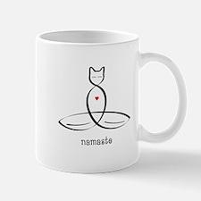 Cat Meditator - Namaste - Small Small Mug