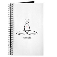 Cat Meditator - Namaste - Journal