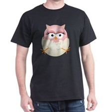 Cute Pink Baby Owl in Egg T-Shirt