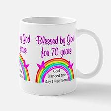70TH SPIRITUAL Mug