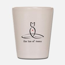 Cat Meditator - The Tao of Meow - Shot Glass