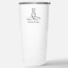 Cat Meditator - The Tao Stainless Steel Travel Mug
