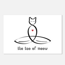 Cat Meditator - The Tao o Postcards (Package of 8)