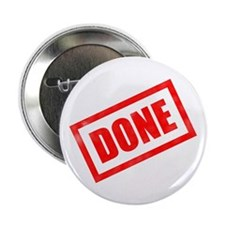 """Done Stamp 2.25"""" Button (10 pack)"""