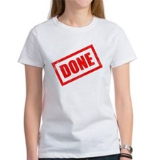 Done Stamp Tee