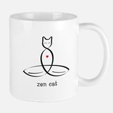 Cat Meditator - Zen Cat - Mug